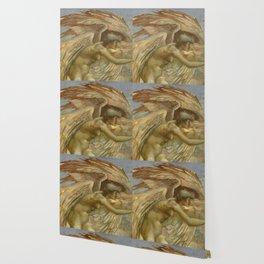 "Edward Burne-Jones ""A Gorgon (a fragment)"" Wallpaper"