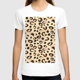 leopard skin print design T-shirt