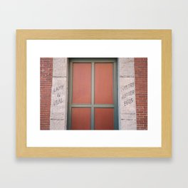 Portland Maine Building Framed Art Print