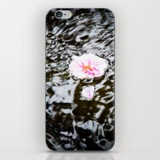 Cherry Blossoms on the Water iPhone & iPod Skin