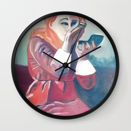 Beauty make up Wall Clock
