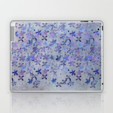 twilight flowers Laptop & iPad Skin