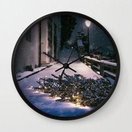 Chrismas Tree Wall Clock