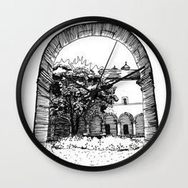 a glance inside Wall Clock