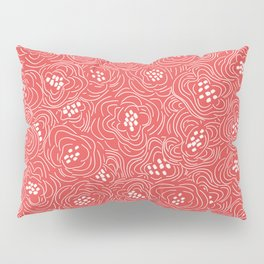 California Poppies Coral Pillow Sham