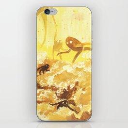 whisps — YELLOW iPhone Skin
