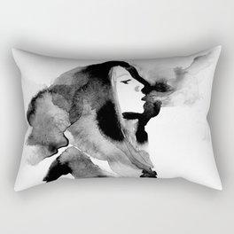 A Girl on Geary Rectangular Pillow