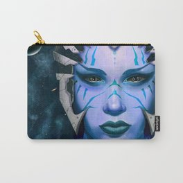 Space Woman Carry-All Pouch