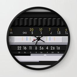 Nikon 50mm Wall Clock