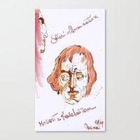 mozart Canvas Prints featuring Mozart & Salieri by MENAGU'