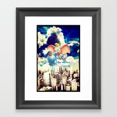 Enjoy the little things - for iphone Framed Art Print