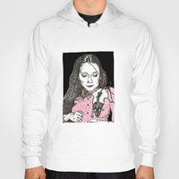 jessica lange Hoodies featuring Jessica by BlushBoundJazzy