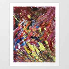 Abstract DH 002 Art Print