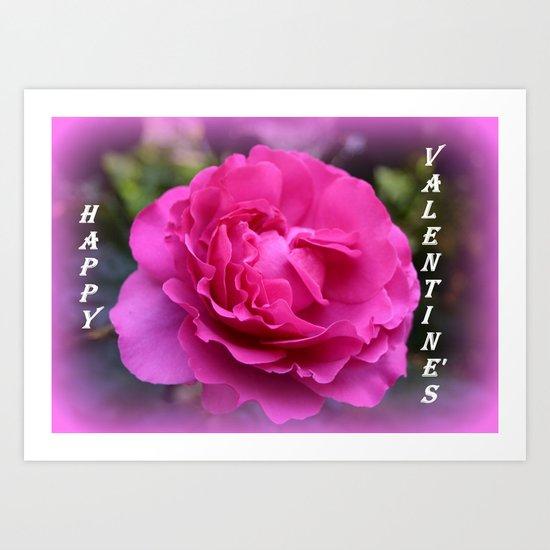 Happy Valentine's Art Print