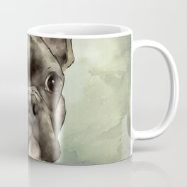Frenchie Wants To Know Coffee Mug