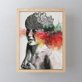 Convergence Of Random Variables Framed Mini Art Print