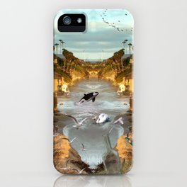 Fantasy Laguna beach iPhone Case