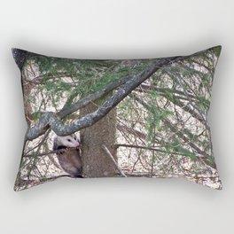 Possum Going up a Tree Rectangular Pillow