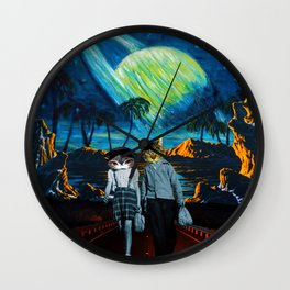 Thieves & Lovers Wall Clock