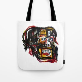 Skull after Basqiat Tote Bag