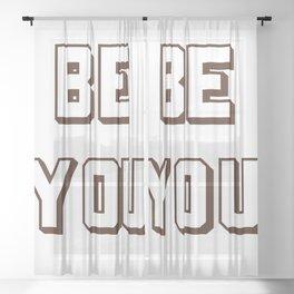 BE YOU Sheer Curtain