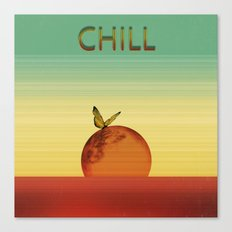 Just Chill Canvas Print