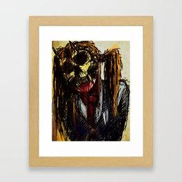 Ex mask Framed Art Print