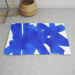 Superwatercolor Blue Rug