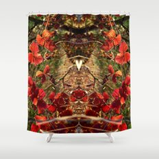 Winter warmth Shower Curtain