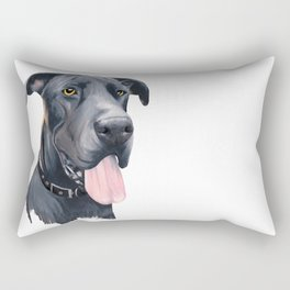 Great Dane Rectangular Pillow