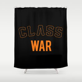 San Francisco Class War Shower Curtain