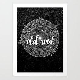 Old Soul 1 Art Print