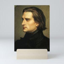 Franz Liszt (1811-1886) at 29. Painting by Charles Laurent Marechal (1801-1887). Mini Art Print