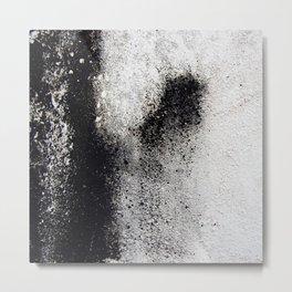 Negro sobre Blanco Metal Print