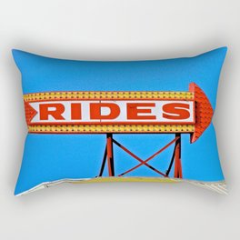 Let's Ride Rectangular Pillow