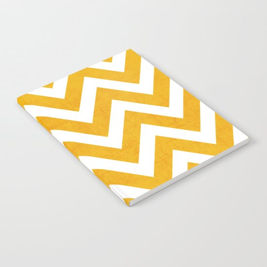 yellow chevron Notebook