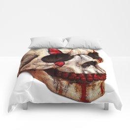 Circus Clown Skull Comforters