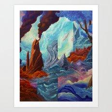 Transition Point Art Print