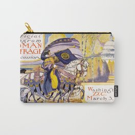 Vintage poster - Woman Suffrage Procession Carry-All Pouch