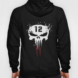 Tom Brady TB12 Punisher GOAT New Patriots Boston T-shirts Hoody
