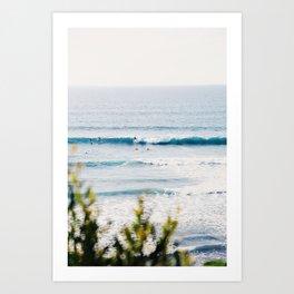 Surfin' Art Print