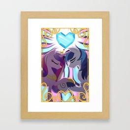 Princess Cadance and Shining Armor MLP Framed Art Print