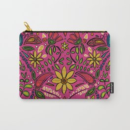 aziza pink Carry-All Pouch