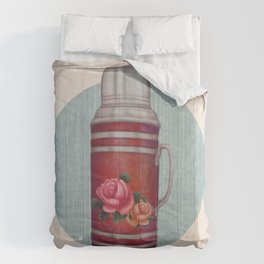 Retro Warm Water Jar Comforters