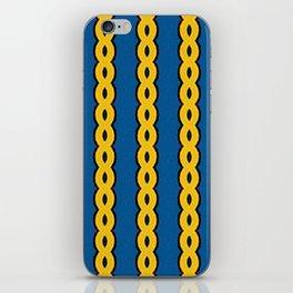 Gold Chain Curtain iPhone Skin