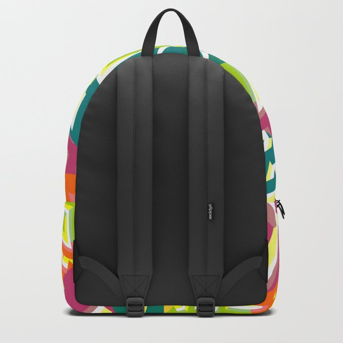 Floral pieces Backpack