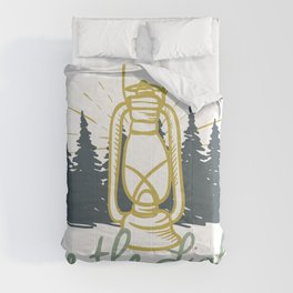Be the Light Christian Inspiration Lantern  Comforters