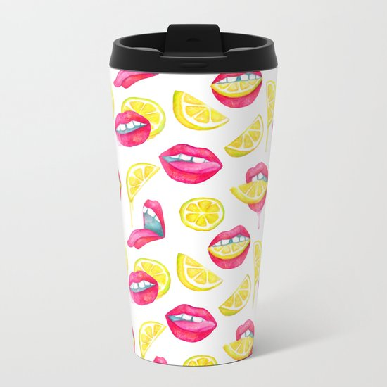 Bitch, Don't Kill My Vibe Metal Travel Mug