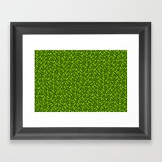 Control Your Game - Tradewinds Lime Framed Art Print