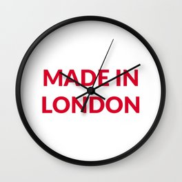 Made in London Wall Clock